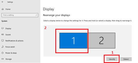 tell windows 10 which is the primary monitor. 011e4133-69c0-4702-8fd5-668b7efa16bb?upload=true.png