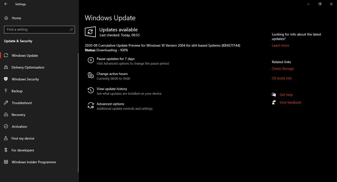 Windows update stuck on 100% ..... data is exhausting but update is still stuck on 100% 02a32e2e-f6f6-4fd9-9dee-125613545218?upload=true.png