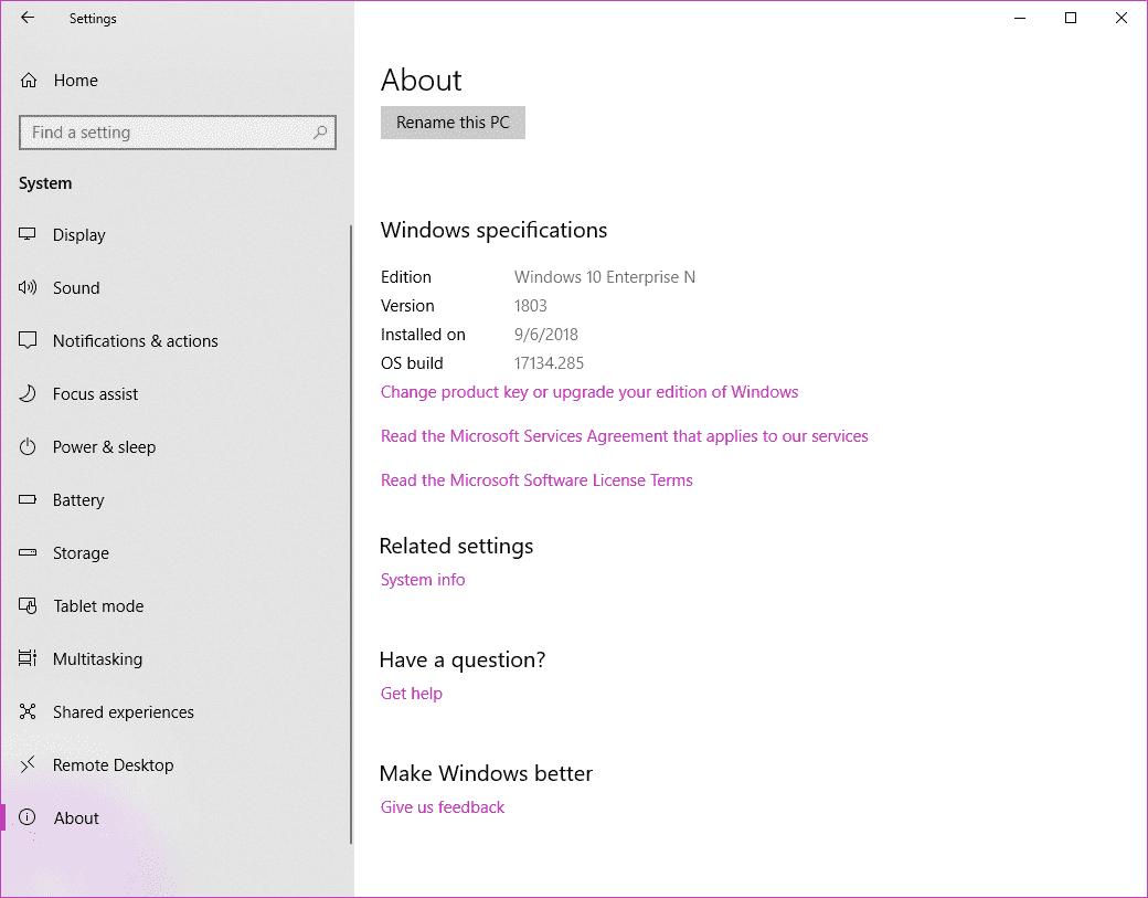 windows 10 enterprise n product key