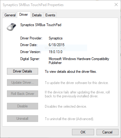 Cursor on Windows 10 freezes and sometimes disappears.It's on Acer Travelmate laptop with a... 0506b07a-ea23-4460-bf1e-8123d9f20330.png