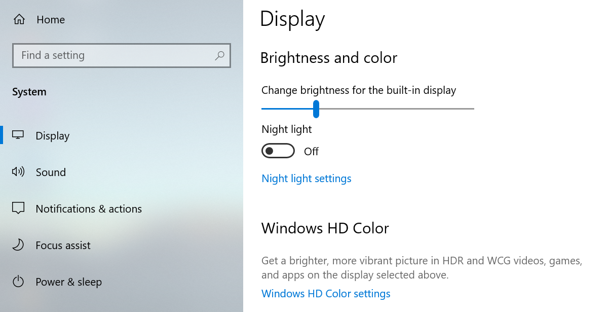 how to disable adaptive brightness on win10 pro 1903 - Answer 059db7e6-44fd-4759-ae36-90a993996711?upload=true.png