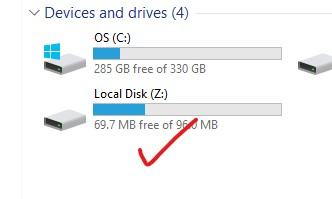Local Disk Z automatically created. 07e6d65e-1844-40d3-8952-5f6a4e970367?upload=true.jpg