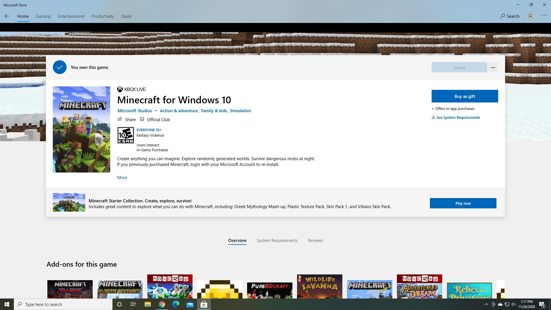 Cant Install Minecraft Windows 10 but I own it 09245592-3a2f-4b52-adda-8d69c9cfc9b7?upload=true.png