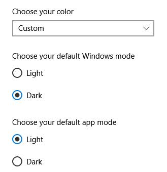 Windows choose your color option Dark, Light or Custom missing. 0ae6eea2-850f-48f5-959a-3420c036e628?upload=true.png