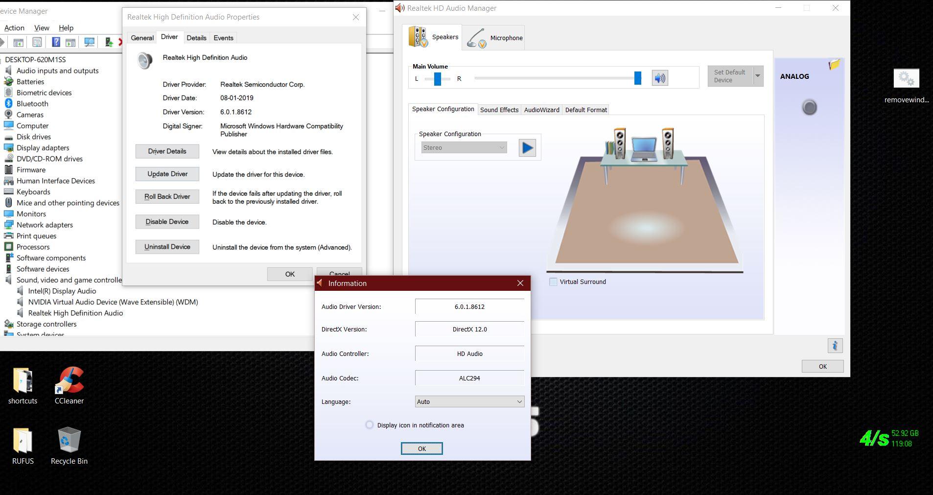 Realtek 12s Audio Codec Driver Download