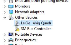Esata not detecting all drives ( LaCie 2 Big ) 10660d04-9beb-4b50-8138-8f4de6595b7e.jpg