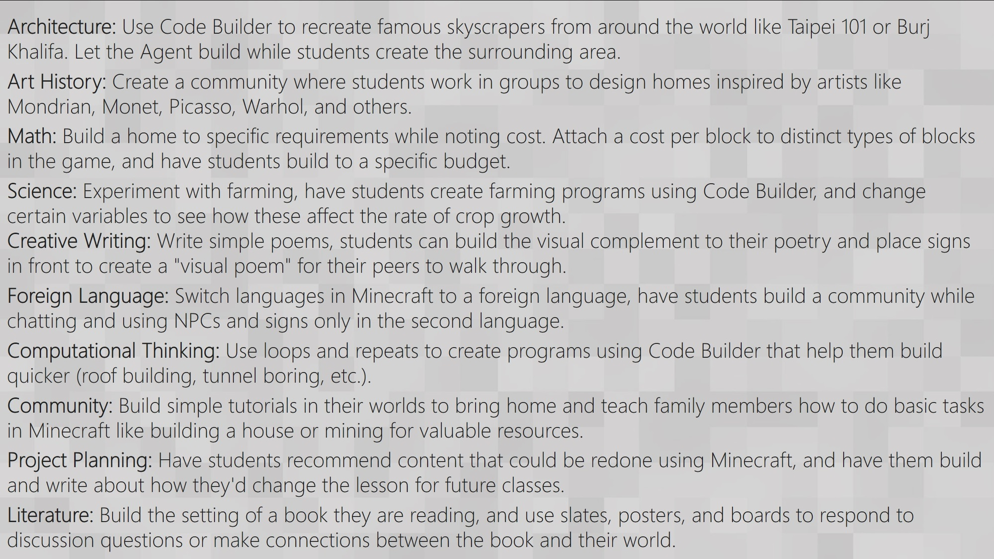 I availed the windows 10 minecraft edition code in 2017 i think. But i lost my email... 10_lessons-1.jpg