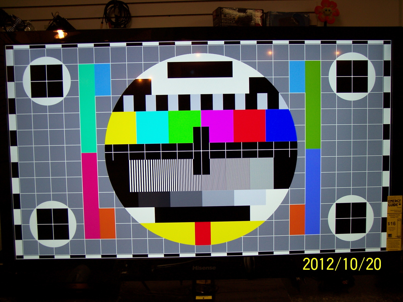 No image on display while cloned with the TV, but with image on TV 10o1qol.jpg