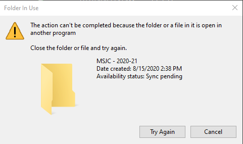 OneDrive won't rename folder on my computer, but it will on my laptop. 1100ff4a-a05f-4b90-99c8-2d5d657a4611?upload=true.png