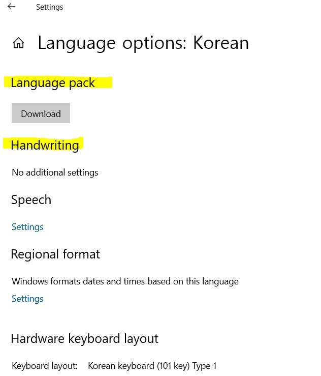 Window Language pack installation location