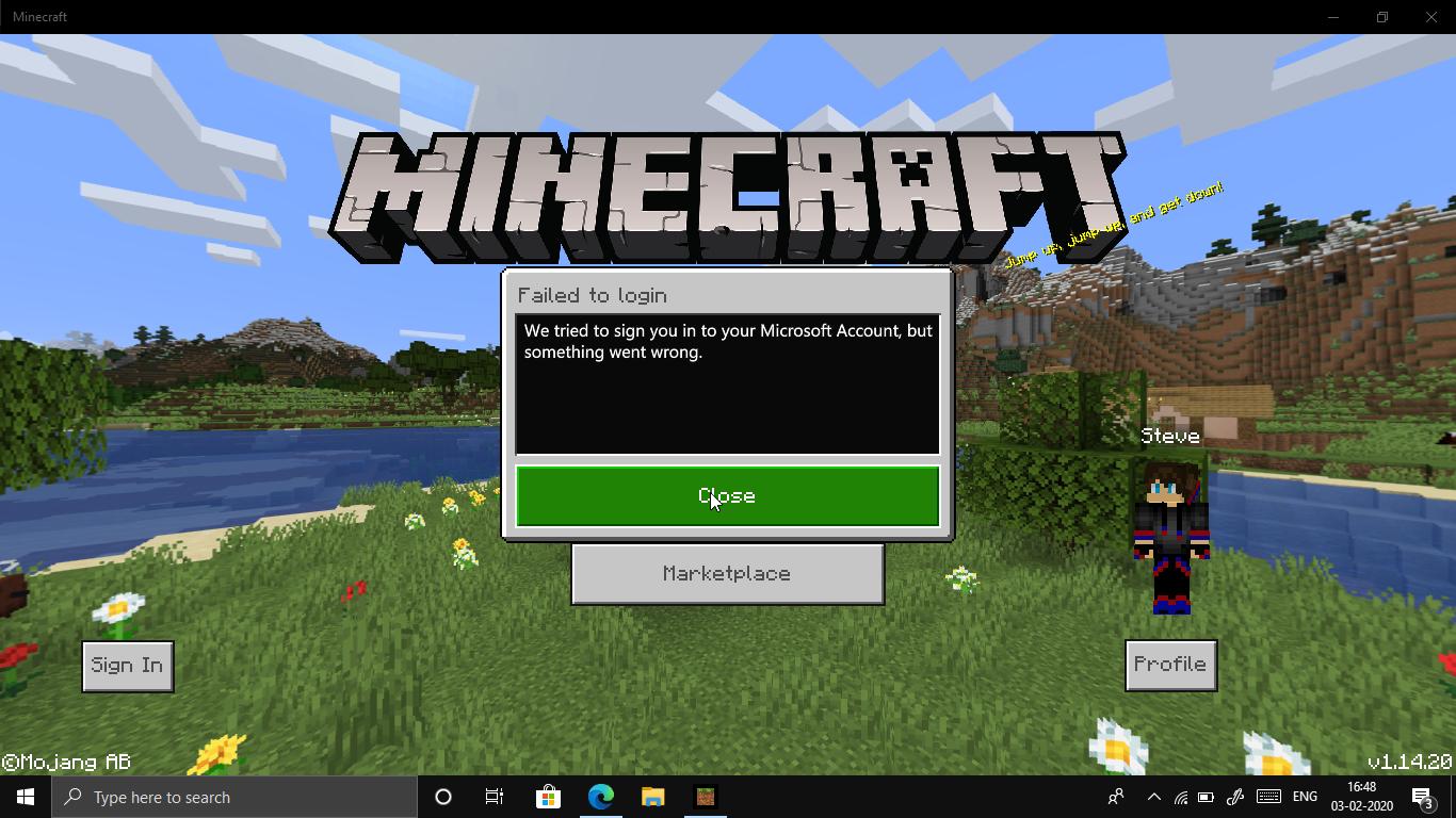 Minecraft login is bugged 119af579-2ed9-403f-bfd2-39be64a7b3f4?upload=true.jpg
