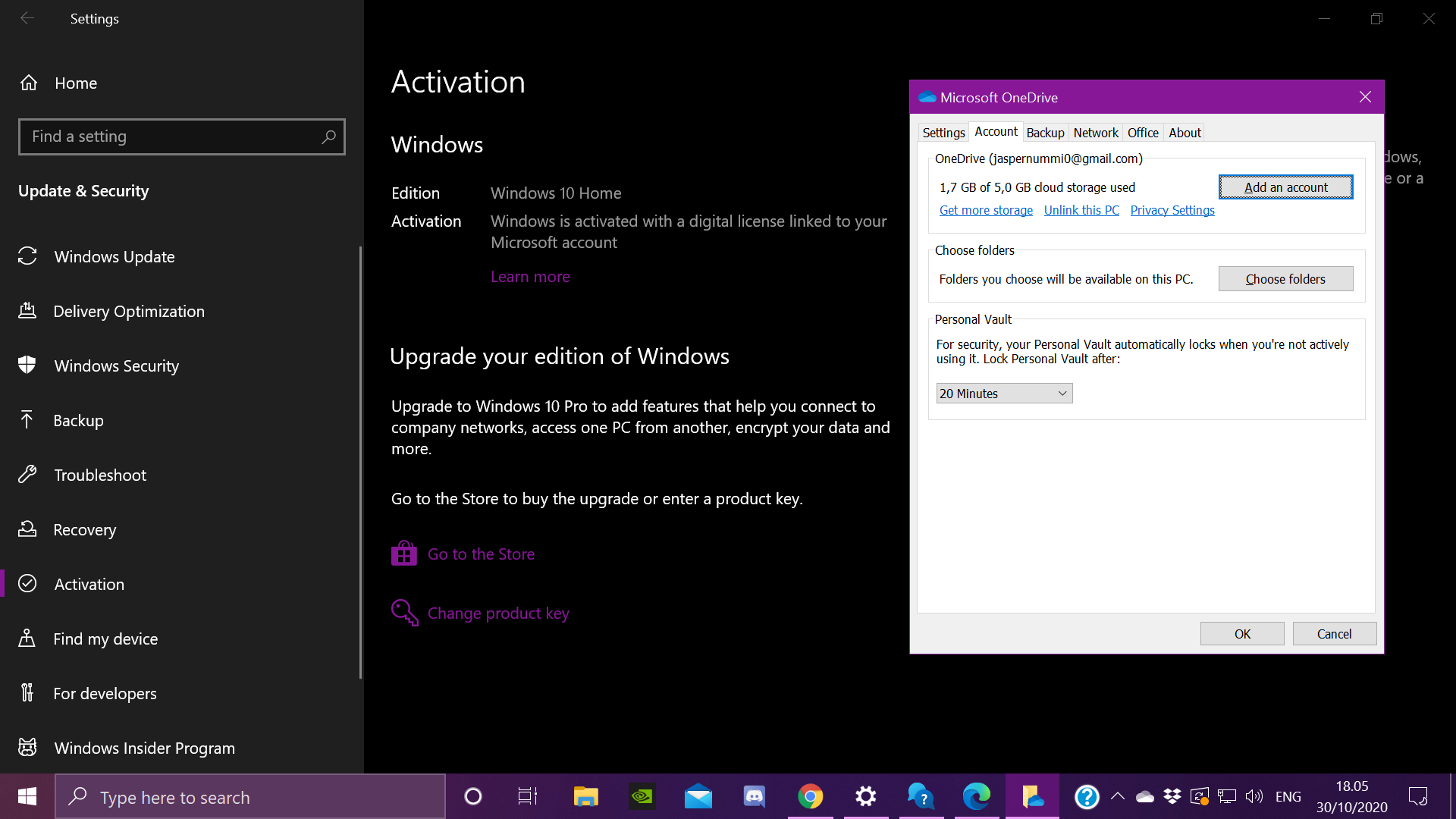 Windows saying its not activated when i have a digital licence 1217f02e-de01-4156-ab4b-e88da7684308?upload=true.png