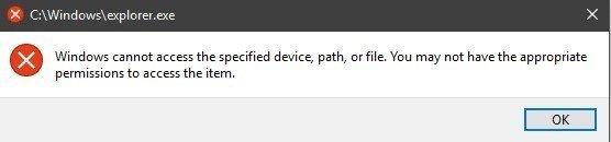 Start Menu can't access the system files after the 1809 Update 12cd5e7d-ad30-44d4-bdc0-da18652b8aed?upload=true.jpg