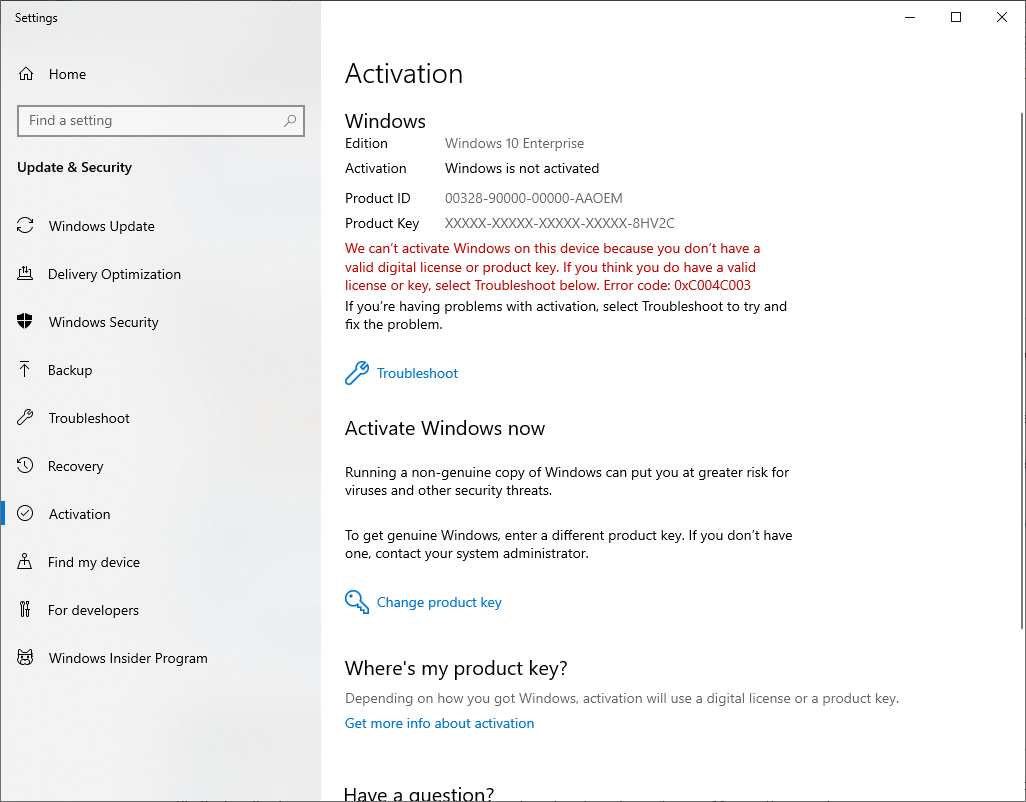 Tried to upgrade to Windows 10 Pro, won't activate. 13ceebad-aa69-4b84-9dc1-62c60725a7e9?upload=true.png