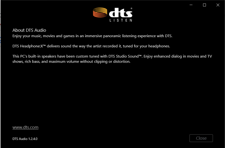 DTS Sound Unbound only gives option to buy or try free trial, even after purchase 145372d1-59b2-4f22-9053-83f0b7a9a1b8?upload=true.png
