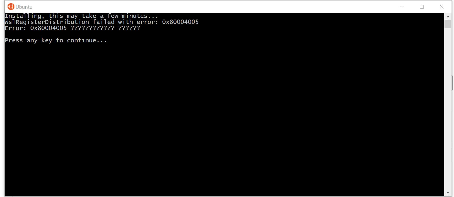WslRegisterDistribution failed with error: 0x80004005 14894248-111d-412b-8af4-855ec595eda1?upload=true.png