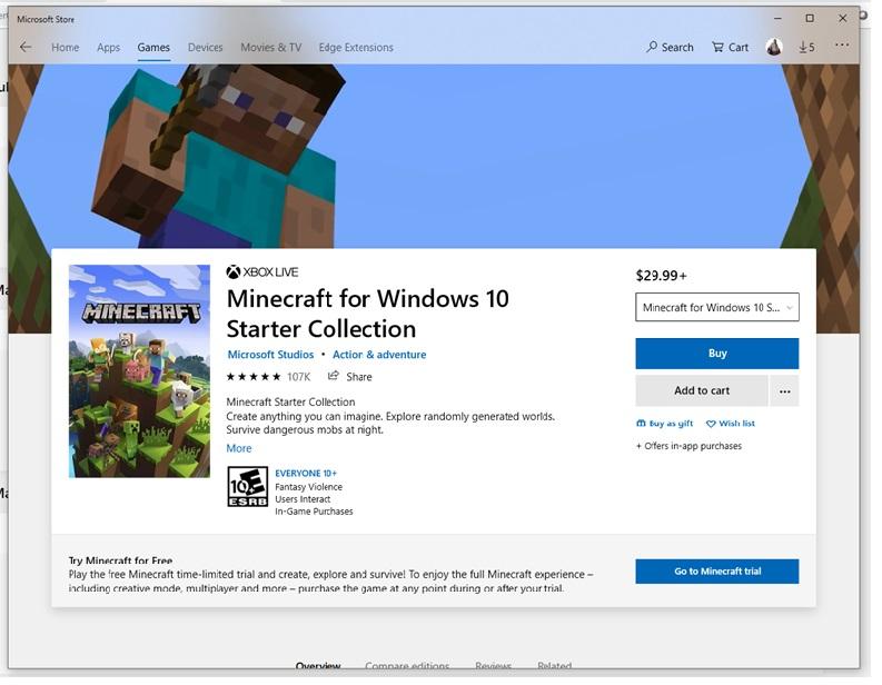Installing Minecraft for Windows 10 on multiple devices? 15906a84-6e5e-4a04-aed3-54da62bdf3f1?upload=true.jpg