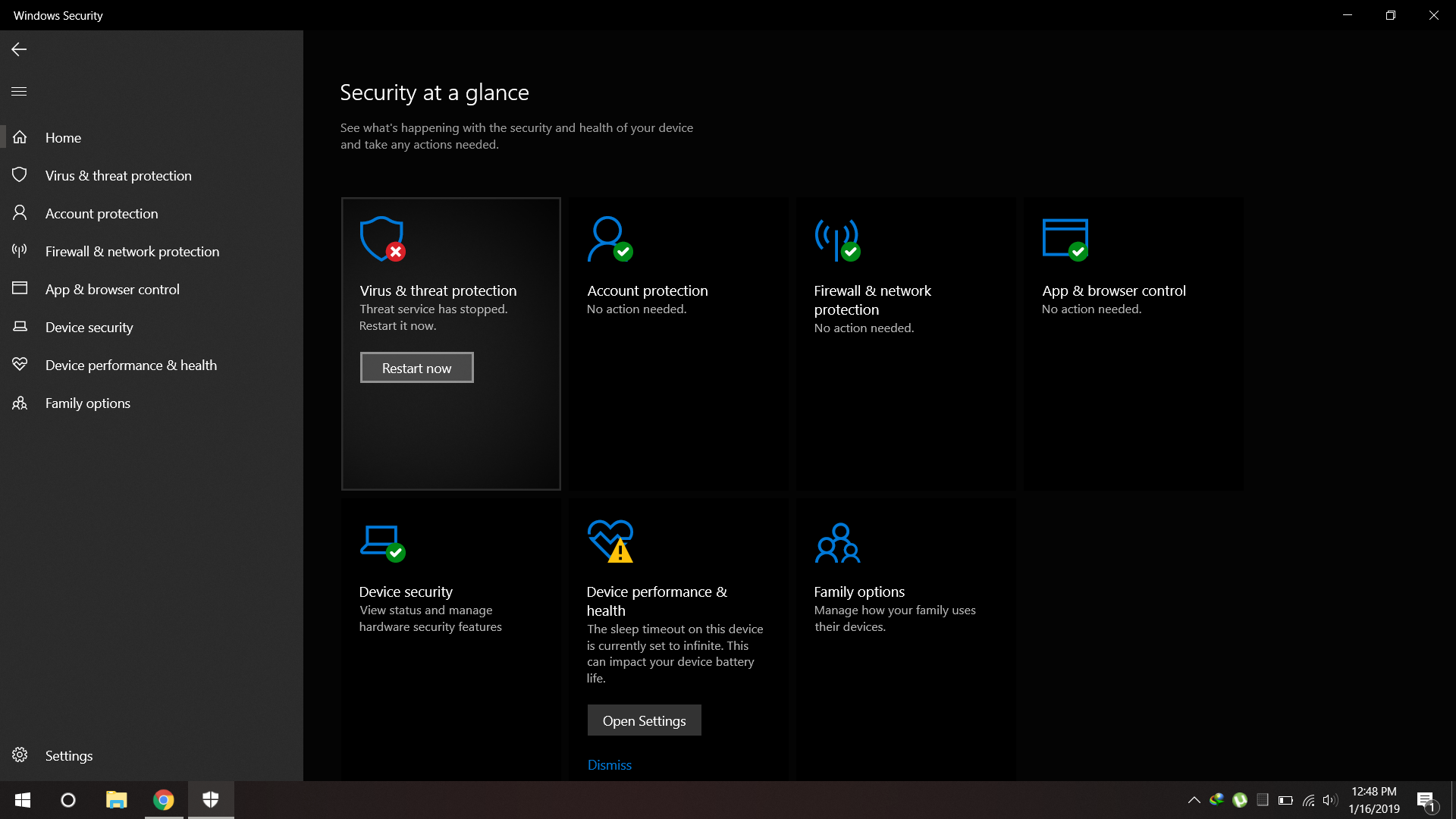Windows Defender - Virus and Threat Protection - Threat service has stopped 15a44fb7-1139-40ea-a034-4c77d094cad1?upload=true.png