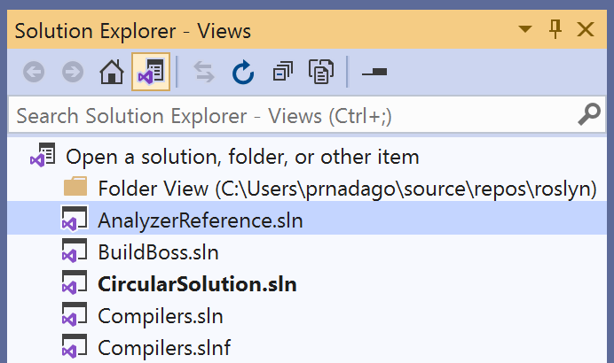Visual Studio 2019 v16.8 Preview 2 Releases New Features 16.8_P2_listofviews-1.png