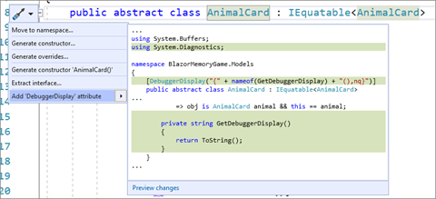 New Visual Studio 2019 v16.7 and v16.8 Preview 1 released 166GANETProductivity.png