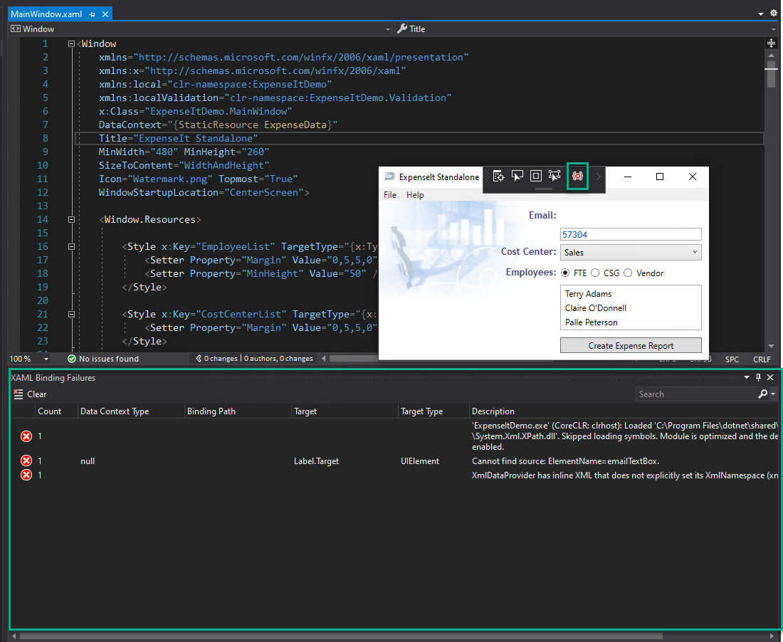 Visual Studio 2019 v16.6 and v16.7 Preview 1 now released 166GAXAMLTooling.png