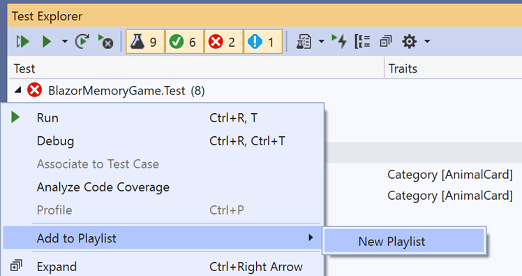 Visual Studio 2019 v16.6 and v16.7 Preview 1 now released 166TestExplorer1.png