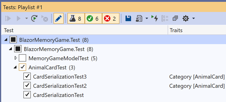 Visual Studio 2019 v16.6 and v16.7 Preview 1 now released 166TestExplorer2.png