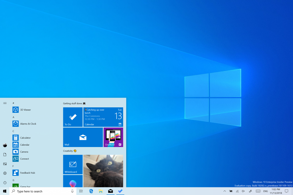 What is new for Windows 10 May 2019 Update version 1903 18282-image1.png