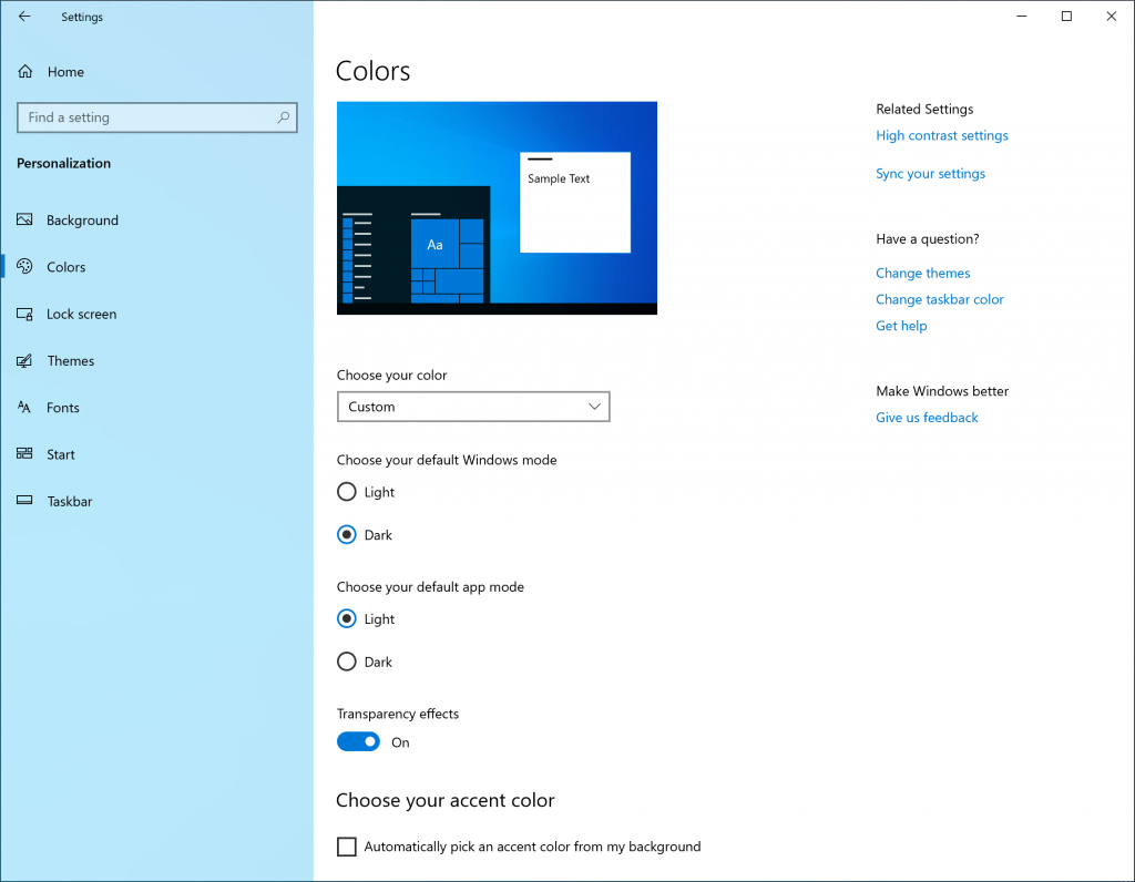 What is new for Windows 10 May 2019 Update version 1903 18282-image2.png