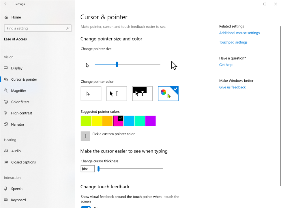 What is new for Windows 10 May 2019 Update version 1903 18298-9.png