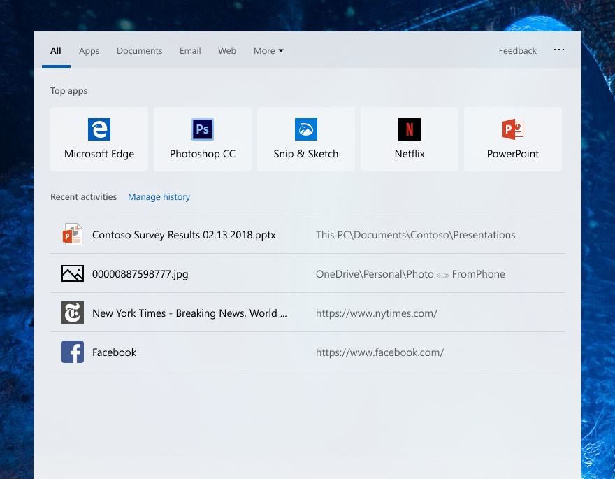 What is new for Windows 10 May 2019 Update version 1903 18329-1.png
