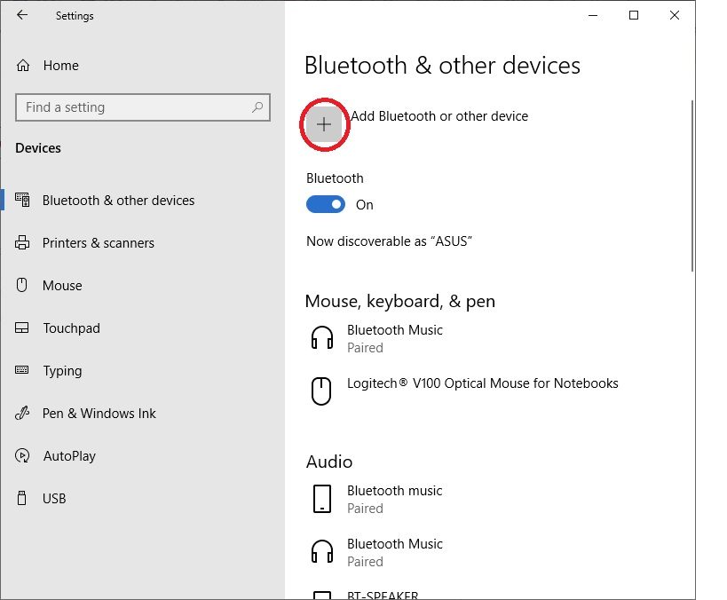 The Add Bluetooth & other devices button in Setting->Bluetooth & other devices not responsed 18e757ba-ca9b-4bfd-8c25-36e088e388bf?upload=true.jpg