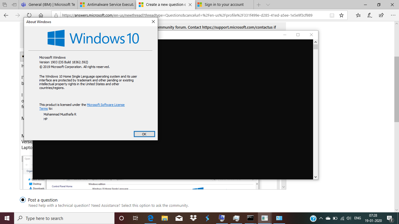 Request assistance with Windows 10 Issue. 1a6c4f7f-80e9-4132-bdec-00116929b46f?upload=true.png