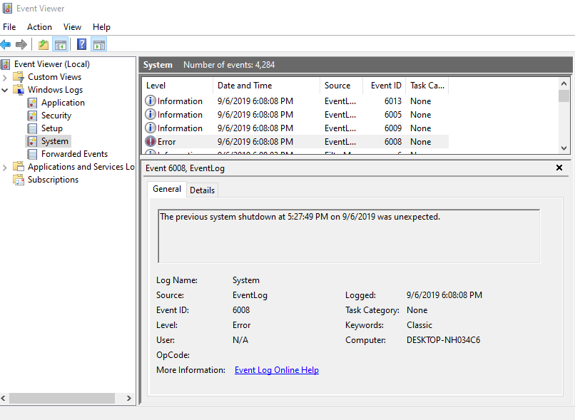 Windows Event Viewer Event 41, Event 6008, PC either reboots or freezes 1df521b6-20c6-4534-88d6-521da95c240e?upload=true.png