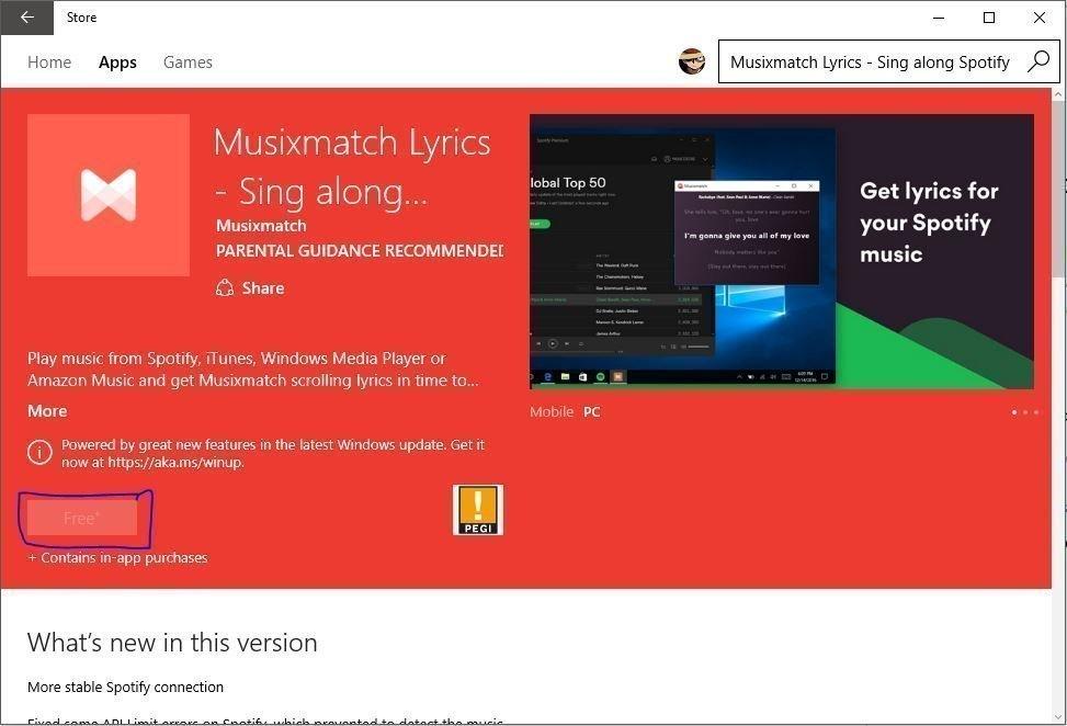 I cannot download Musixmatch on windows 10 1ef78498-3788-4cfa-b952-9fb01ccfec7f?upload=true.jpg