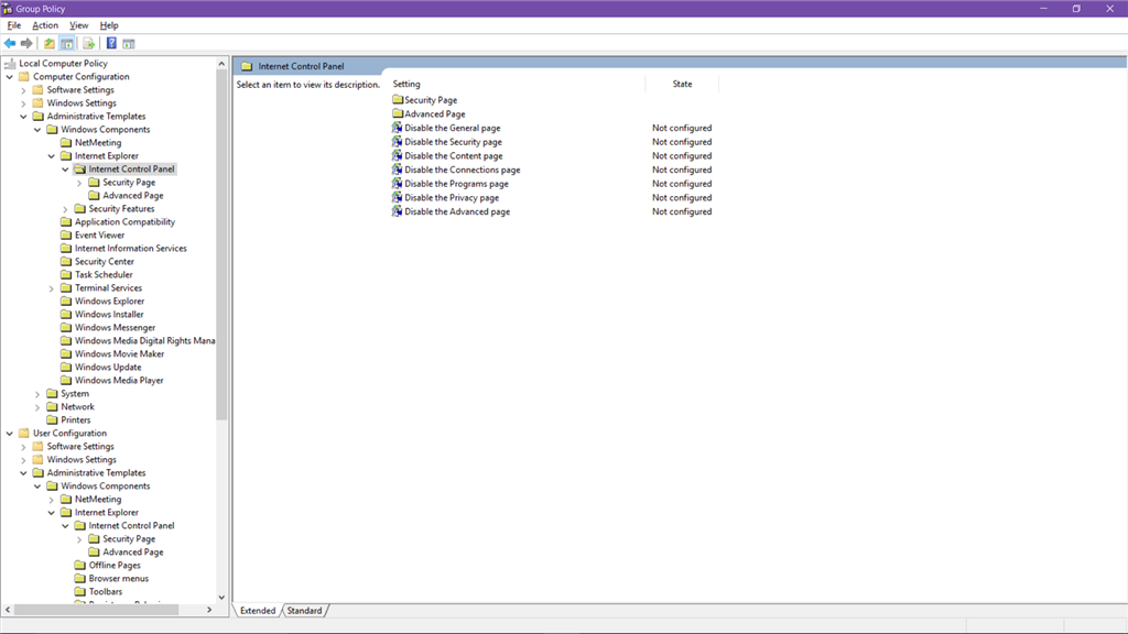 Administrative Templates folder missing in Local Group Policy Editor. 1fc04725-364e-4bf2-b263-1ff4c8451458.png