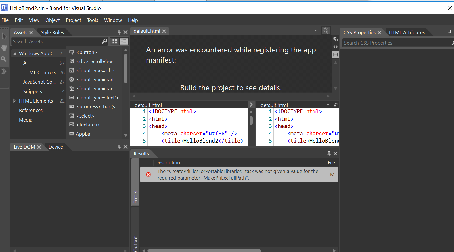 Html project in Blend 2019 1fc7f757-9dce-470f-a691-6660c21789f3?upload=true.png