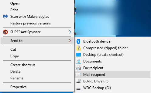 Mail App and File Explorer option Send to > Mail Recipient solution? 2018-07-09-21-54-54.png