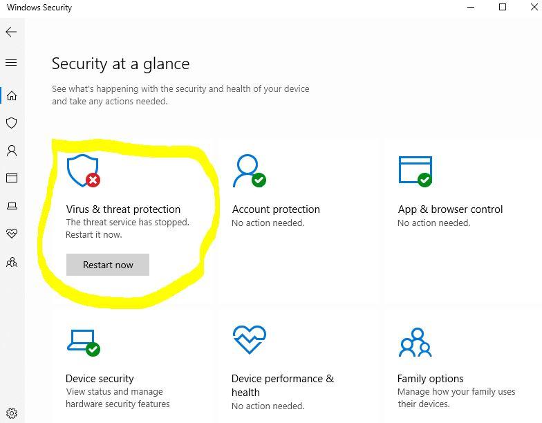 Windows Security stopped working Windows 10 1909 207db3b9-80f8-4867-86f5-43422cd9e454?upload=true.jpg