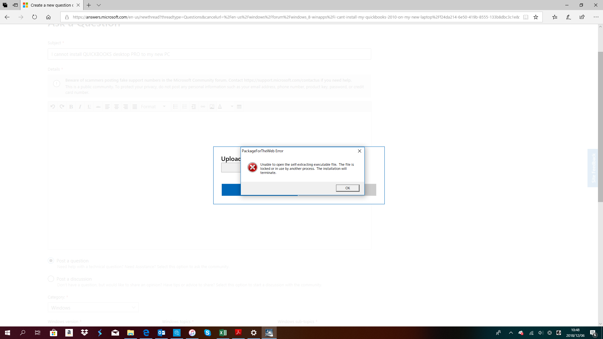 I cannot install QUICKBOOKS desktop PRO to my new PC 22ea15da-8644-4d75-92b8-c2fe98feb246?upload=true.png