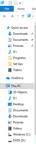In quick access, my D:\ drive merged with music? 24d741f4-e4e2-4ec5-a0f3-ce72ef56137f?upload=true.png