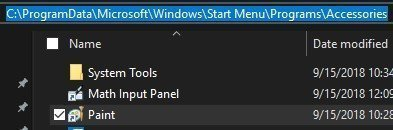 Start Menu can't access the system files after the 1809 Update 2542d316-f908-4f9a-a41b-c52e918bbfa4?upload=true.jpg