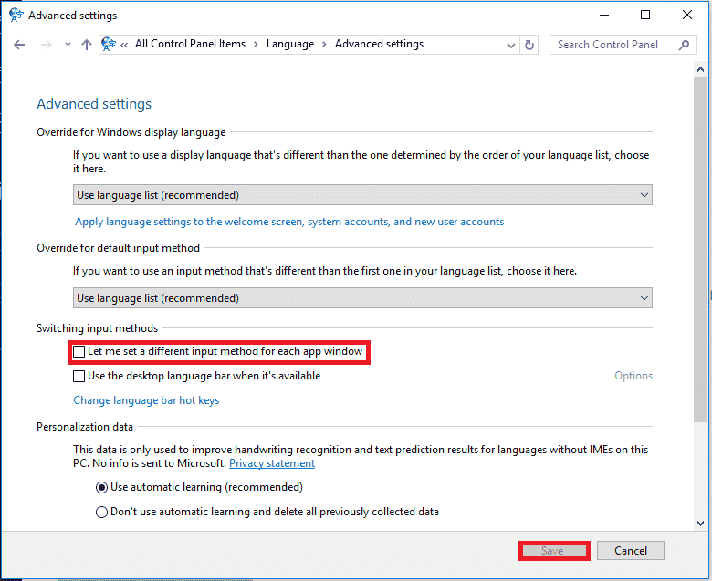 How do I disable Alt + Shift to change the keyboard layout? Language options are still... 259fe1c9-a8a8-476c-a9c8-ef7c03ccca54.png