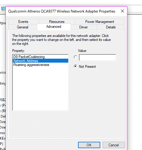 Windows 10 unable to detect 5GHz