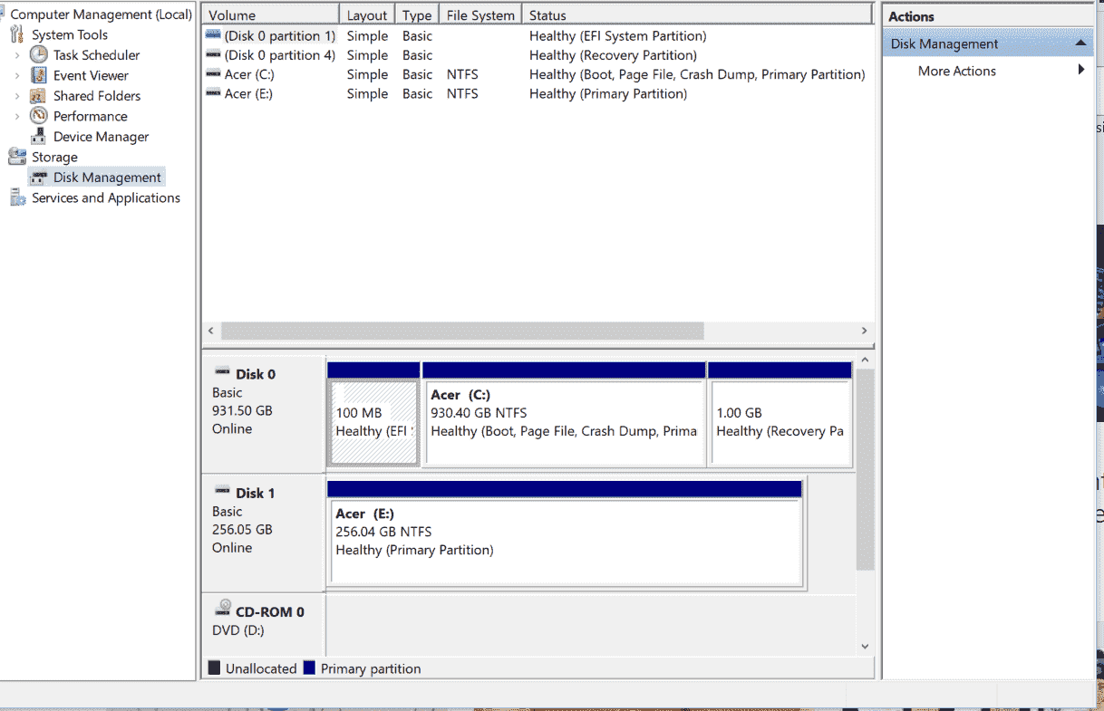 Windows boots fast with just SSD but much slower with SSD plus HDD 266726ee-d797-4c2e-ac3a-f59b4402f746?upload=true.png