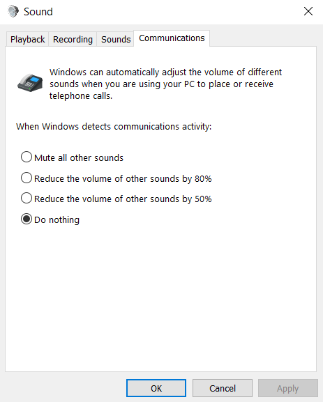 Headset with no sound during calls 2721a3a8-28f5-4f77-8c4a-4c65519e2e6e?upload=true.png