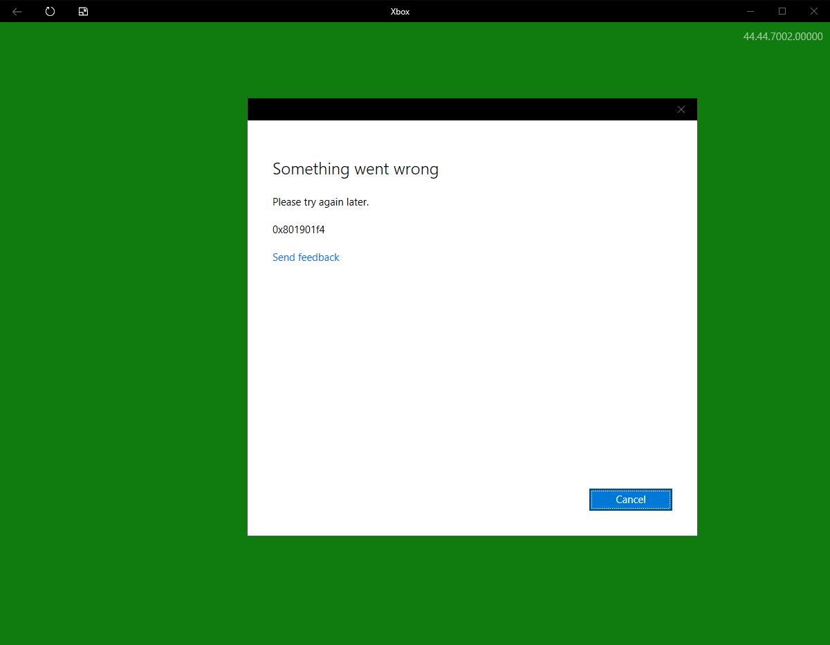 Can't login to XBOX, feedback hub, etc (0x801901f4 error) 27402423-323a-44b8-92d8-f7071aa4b986?upload=true.png