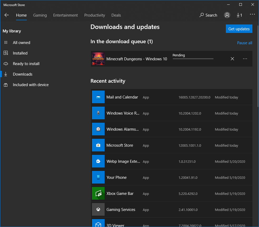 Microsoft Store game download stuck on Pending 27477cc2-dd54-44a4-9047-cd7029217e05?upload=true.png