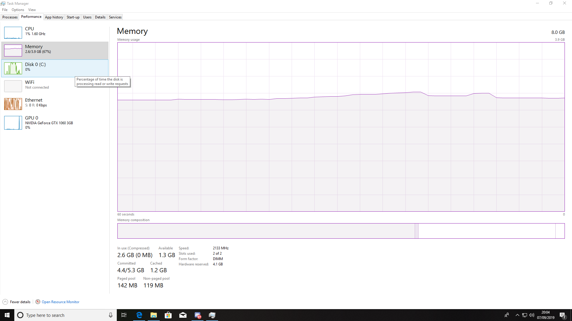 Ram and disk usage up to very high usage in windows 10 278ce68d-e0d9-4993-b5ed-9f7ffda8f319?upload=true.png