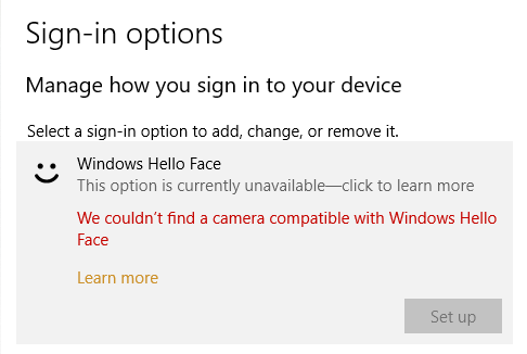 I have a working WebCam but Windows Hello is not available 2962bd89-7b98-484c-955c-586acba9fda4?upload=true.png